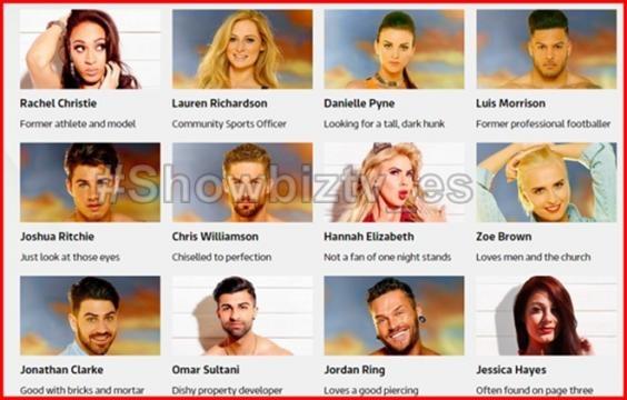 Los concursantes del nuevo reality británico