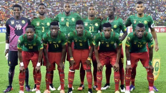 La sélection du Cameroun !