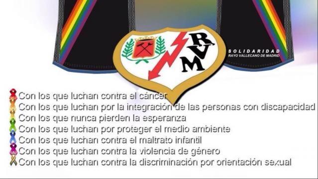 Las causas que apoya el Rayo Vallecano RVM Oficial