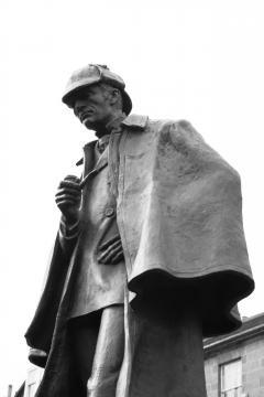 Sherlock's Statue in Baker Street