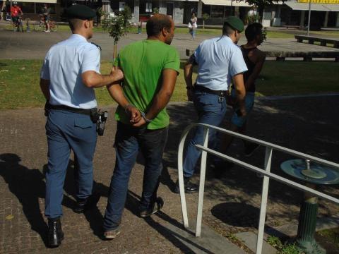 Indivíduos presentes ao Tribunal de Vila Verde.