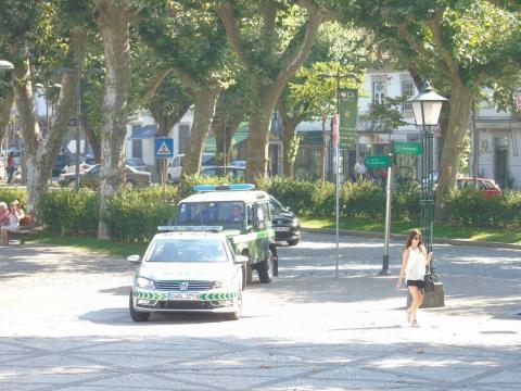 Segurança no Tribunal de Vila Verde reforçada.
