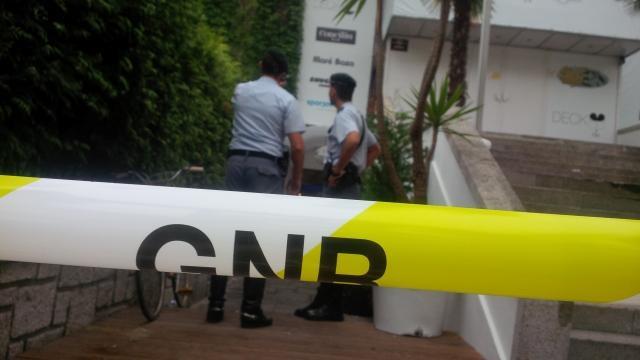 GNR isolou a zona da discoteca.