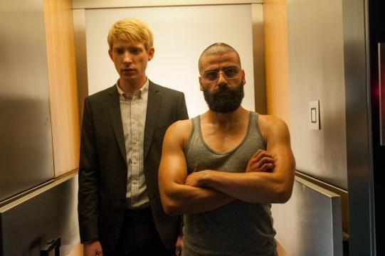 Los humanos del filme: Caleb y Nathan