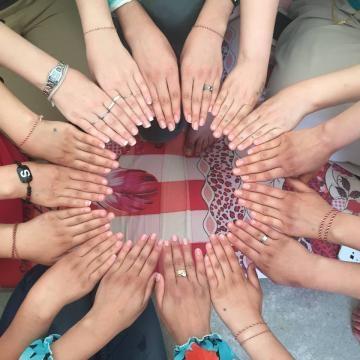 Un cerchio di solidarietà tra le ragazze yazide