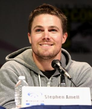 Stephen Amell as Oliver Queen In Cw's Arrow