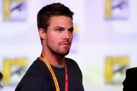 Stephen Amell at San Diego Comic Con