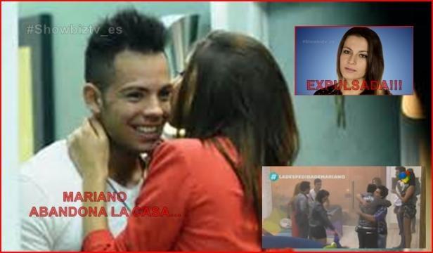 Mariano abandona Gran Hermano 2015