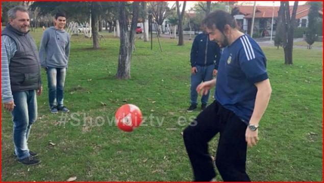 Demir demostra sus dotes con la pelota