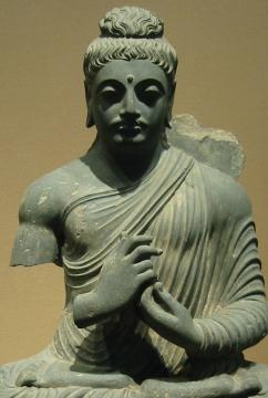 Representação clássica de Vajra Mudra
