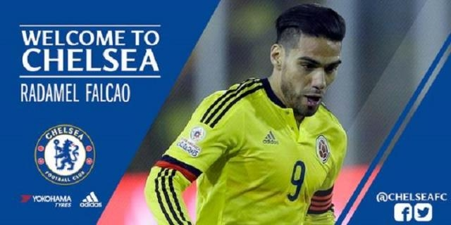 Radamel Falcao est prêté à Chelsea par l'AS Monaco
