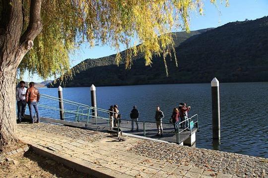 Paisagem da região vinhateira do Douro