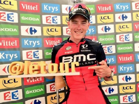Dennis, premier maillot jaune du Tour de France !