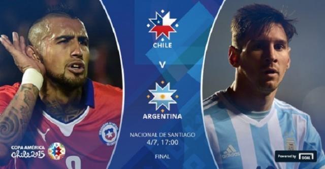 DIRECT / Copa America : Chili - Argentine