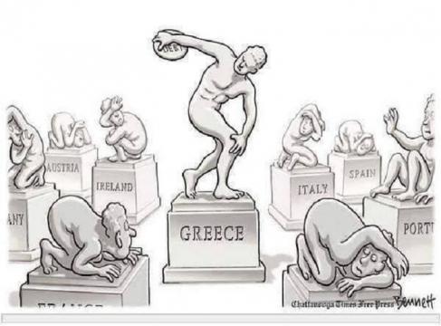 La Prensa de EEUU describe así la crisis griega.