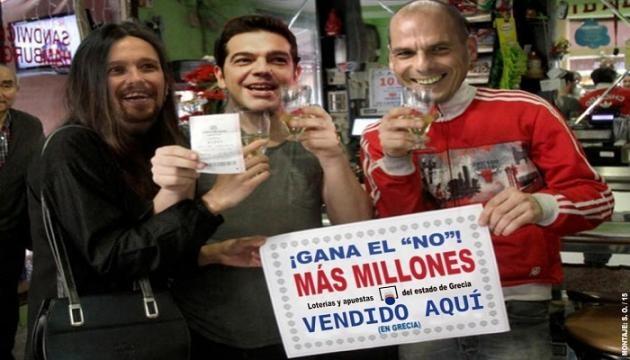 La revista El Jueves parodia la victoria del No.