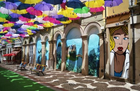 """O projeto """"The umbrela Sky"""""""