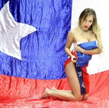 Daniella Chavez célèbre le Chili pour Playboy  5