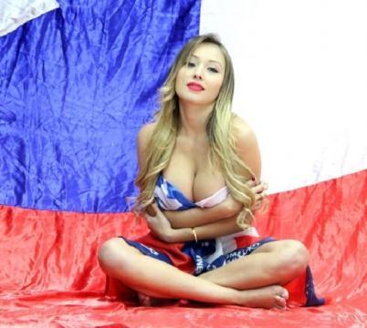 Daniella Chavez célèbre le Chili pour Playboy 7