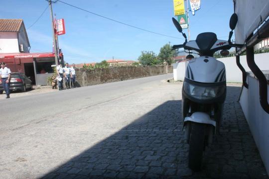 Mota onde seguia Jorge Gonçalves.