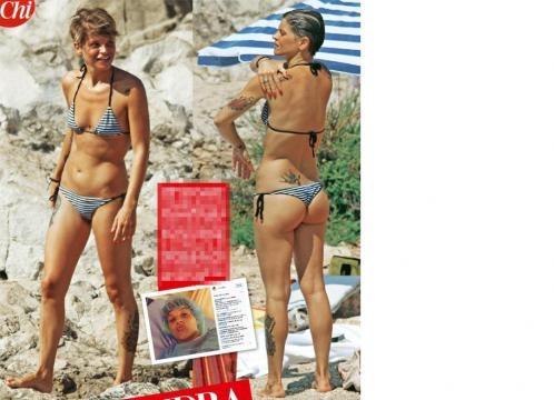 Alessandra Amoroso in vacanza in Puglia.