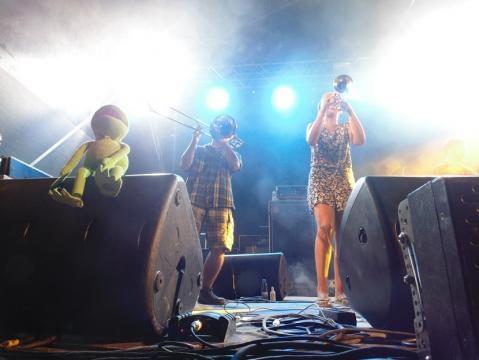 Membros da banda Groove Mood. Foto: Marta Nobre