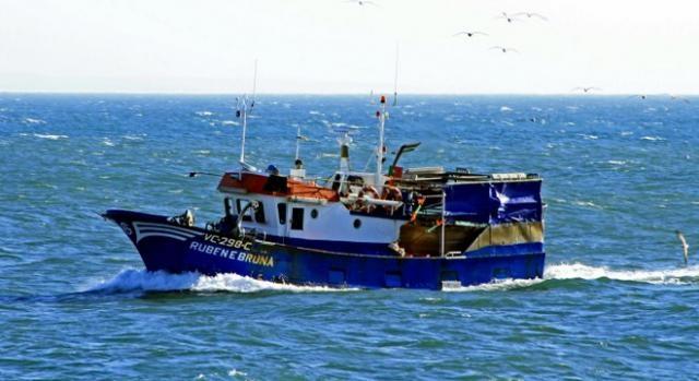 Embarcação está registada em Caxinas