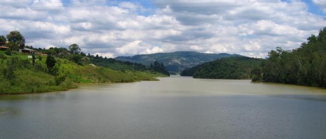 Represa do sistema Cantareira em Mairiporã(SP)