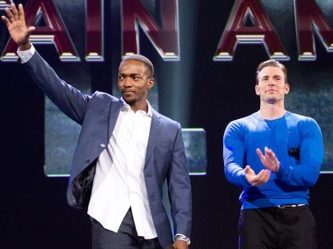 Presentación oficial de Capitán América: Civil War