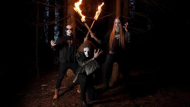 Tsjuder, verdadeiro black metal norueguês