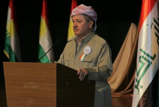 Il presidente del Kurdistan Masoud Barzani