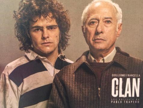 Peter Lanzani y Guillermo Francella en