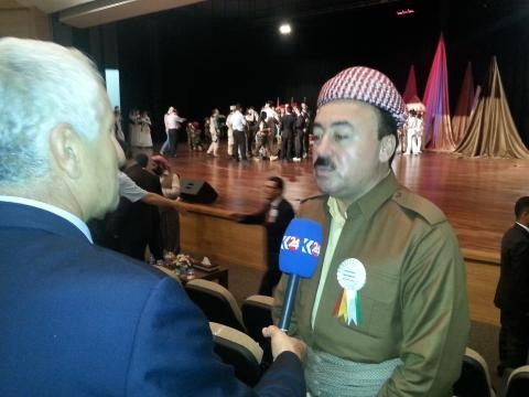 Shekh Shamo, rappresentante religioso yazida