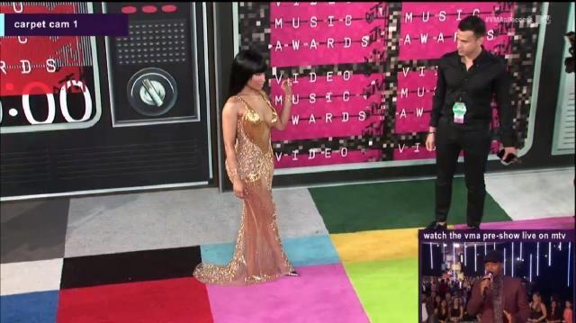 Nicki Minaj também já chegou à passadeira.