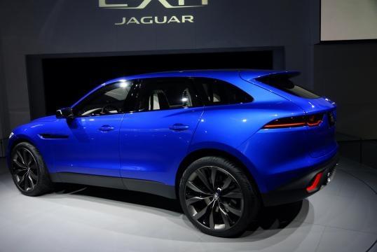 Jaguar F-Pace.Il primo suv della casa inglese.