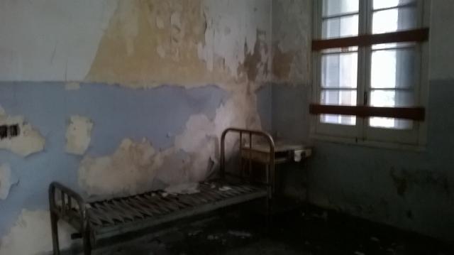 Pabellón Cobos: acá descansaban los pacientes.