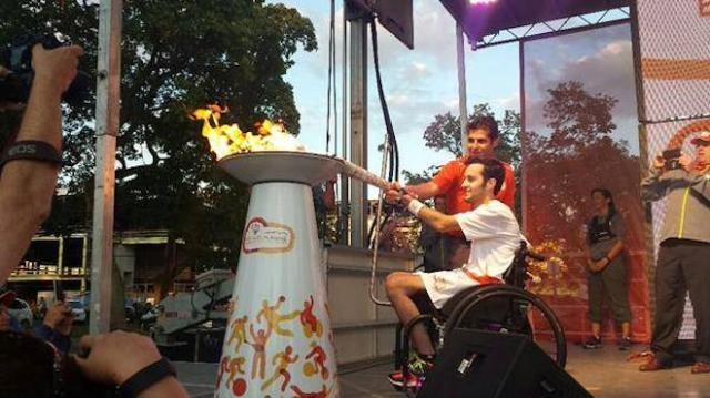 Llama de los Juegos Parapanamericanos Toronto 2015