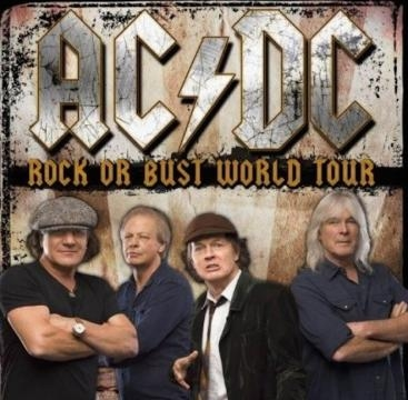 The AC/DC line up Rock or Bust