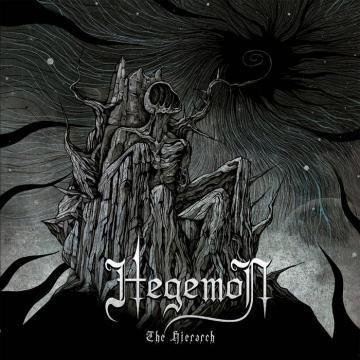 A capa do novo álbum dos Hegemon, The Hierarch