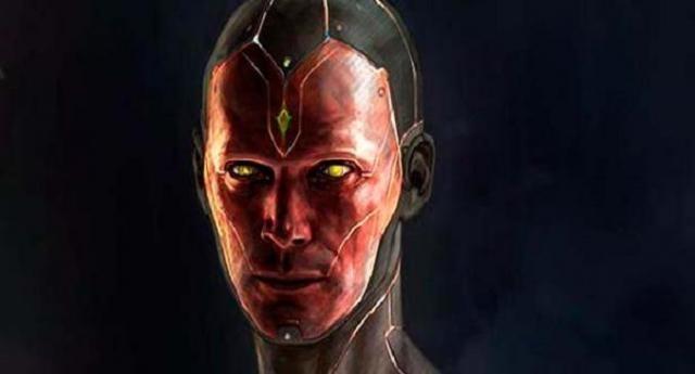 Así será la cara de Vision en Civil War