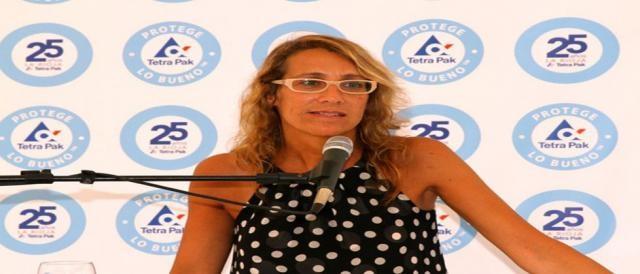 Estela Reale habla sobre su aporte a la campaña