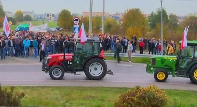 Rolnicy w Polsce płaczą i zgrzytają zębami.