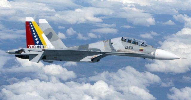 Sukhoi Mk30 de la Aviación Militar venezolana