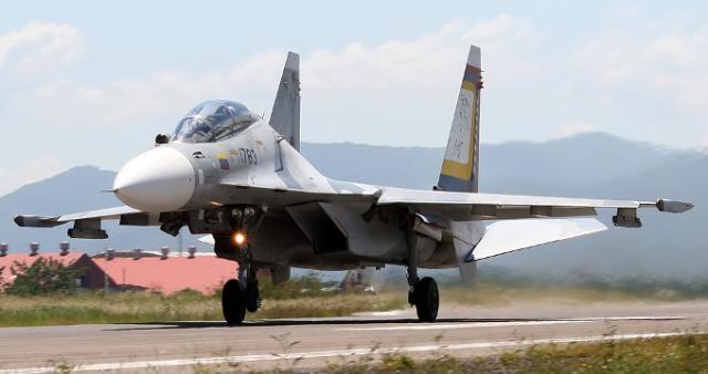 Venezuela cuenta con 24 aviones Sukhoi 30