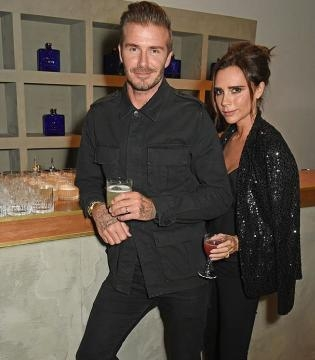 O casal fotografado durante a festa