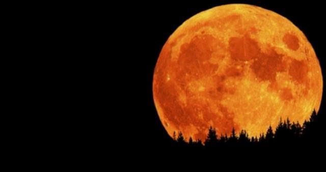 Perspectiva de eclipse lunar en el mundo.