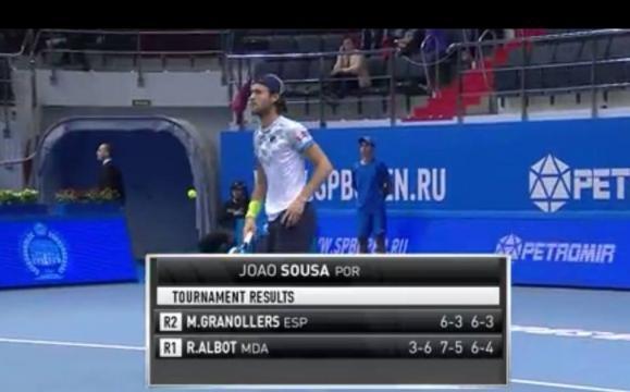 João Sousa, torneio de São Petersburgo