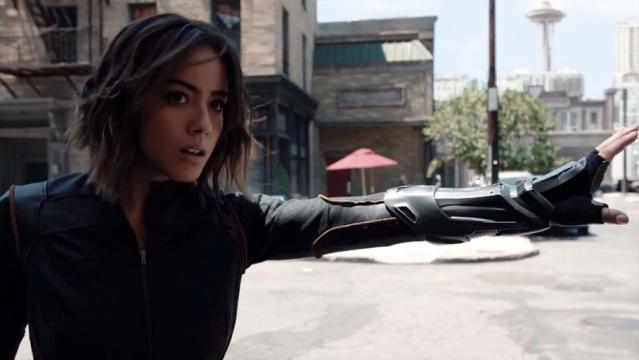 Chloe Bennet, ¿Reemplazante de Black Widow?
