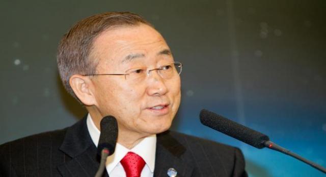 Ban ki-Moon opens 70th General Assembly.