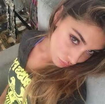 La showgirl argentina Belen Rodriguez.